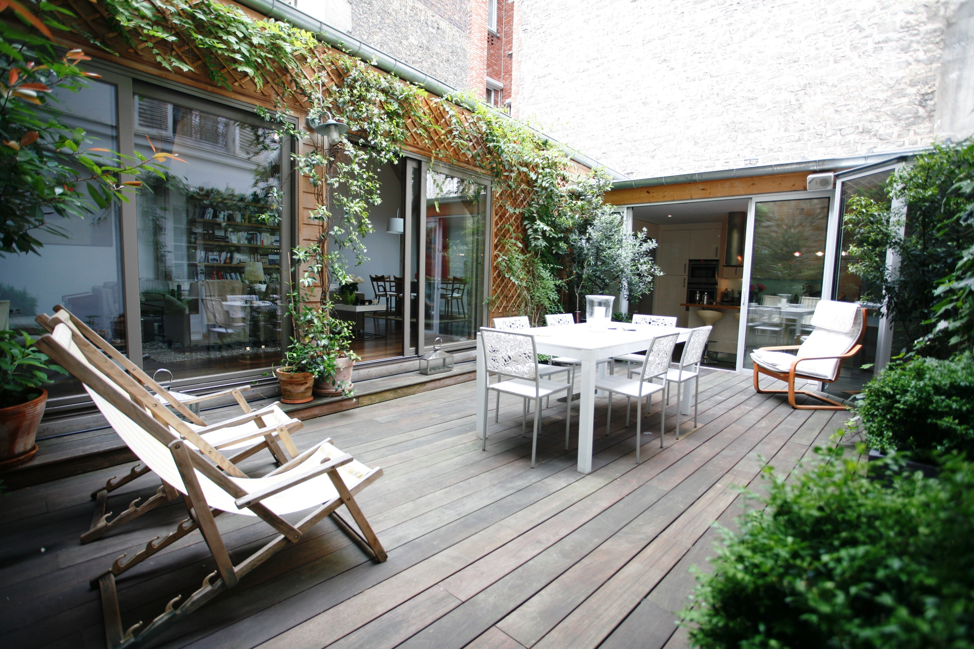 achat appartement terrasse paris