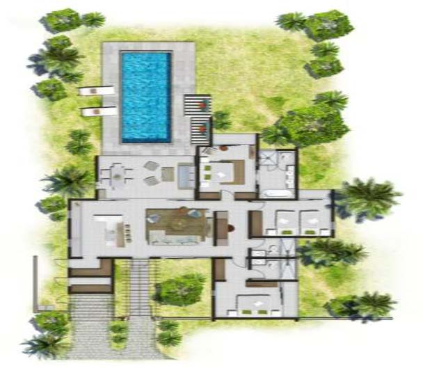 Awesome maison de luxe plan ideas awesome interior home for Model de villa de luxe