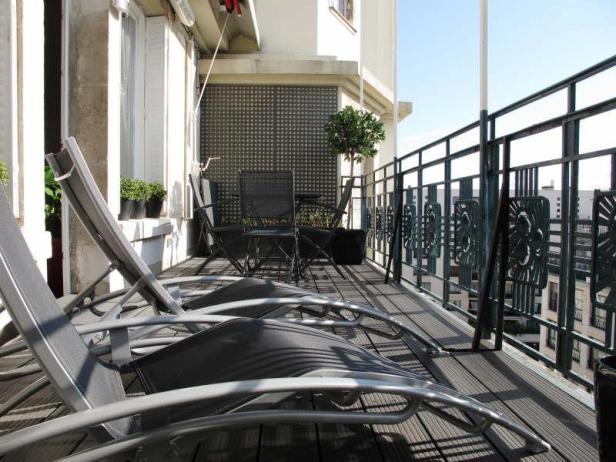 Apparetment dernier tage terrasse paris immobilier de prestige - Appartement atypique paris a vendre ...