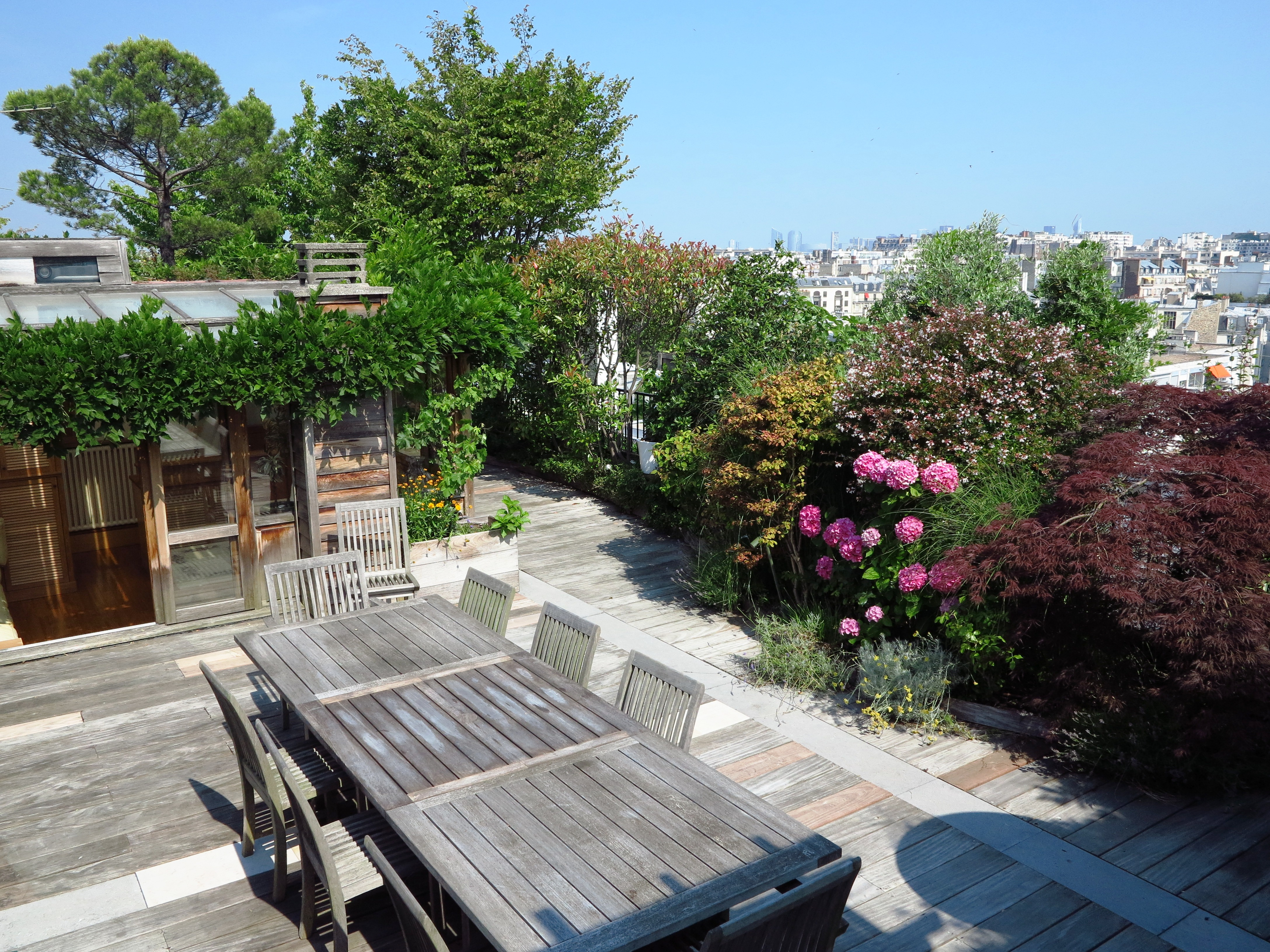 Awesome terrasse et jardin vente paris images awesome for Jardin immobilier