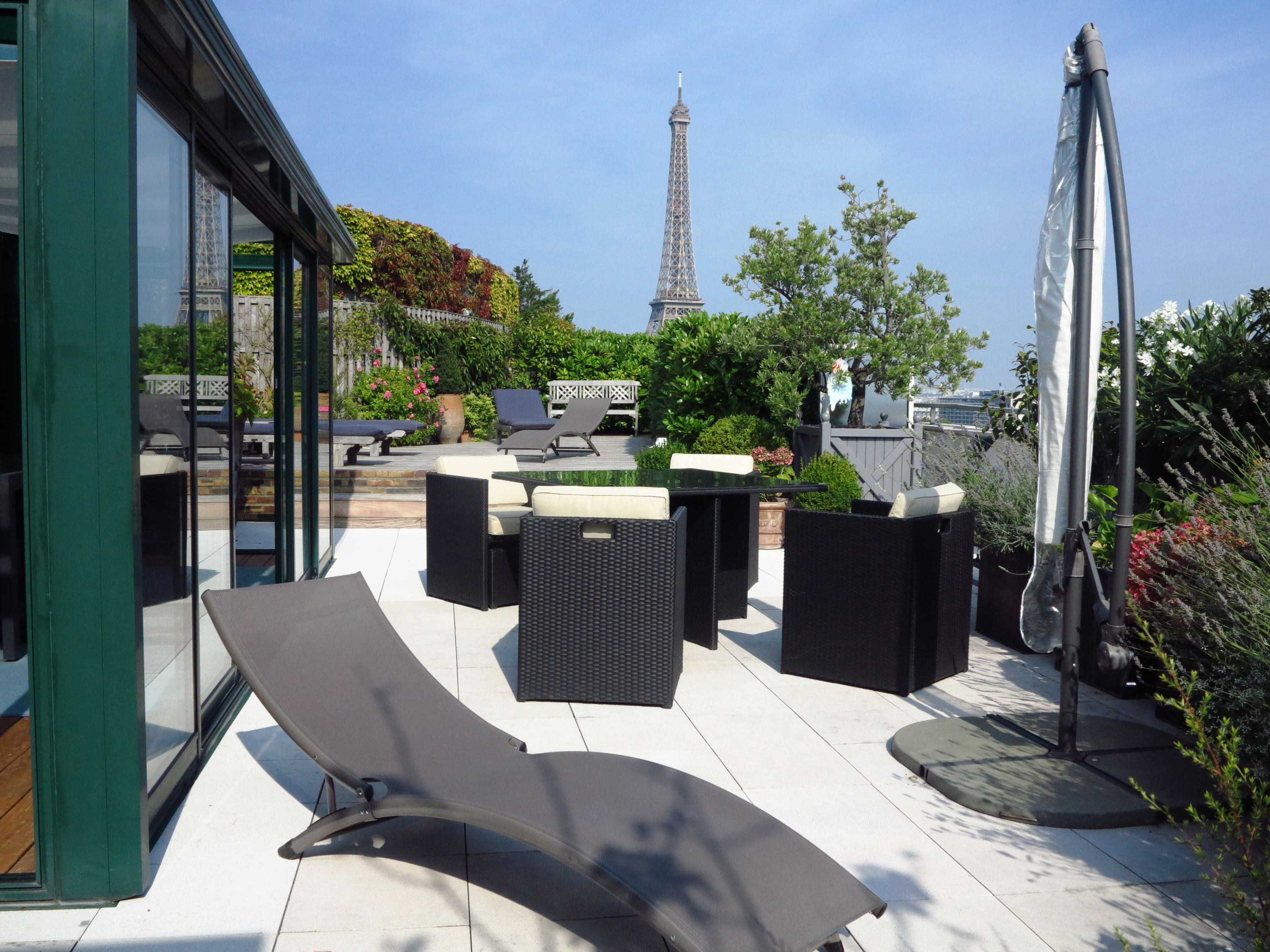 Terrasse appartement paris 16 immobilier de prestige - Terrasse jardin paris tourcoing ...